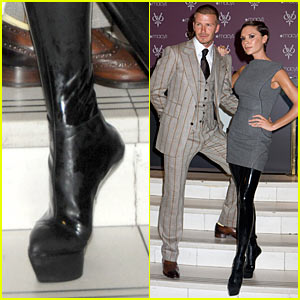 Victoria Beckham Goes Heel-less
