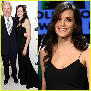Angelina Jolie Hits Hollywood Film Festival