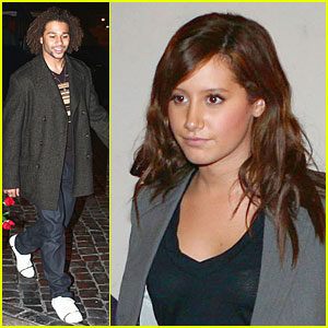 Ashley Tisdale Has Roman Revelry