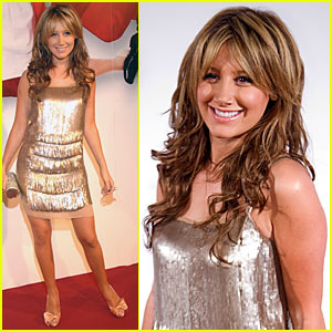 Ashley Tisdale Spends Senior Year in Spain
