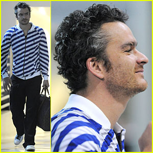 Balthazar Getty Gets Striped Up