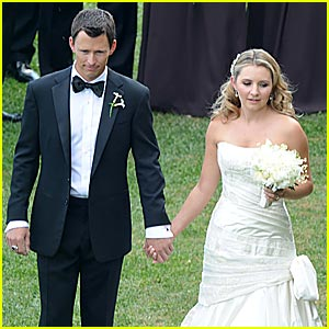 Beverley Mitchell Wedding Pictures -- FIRST LOOK!