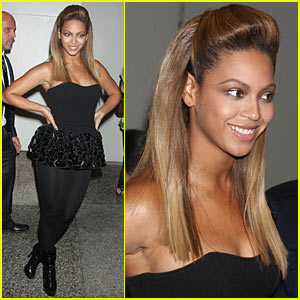 Beyonce Drops By TRL -- Final Appearance?
