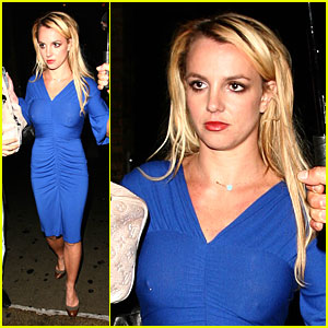 Britney Spears Hits Up Soho House