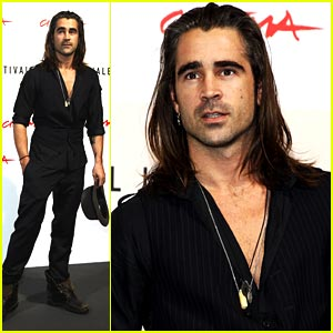 Colin Farrell Is Full Of Pride Colin Farrell Just Jared