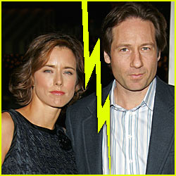 David Duchovny &#038; Tea Leoni Split