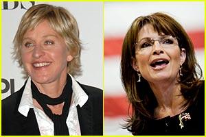 Ellen DeGeneres to Sarah Palin: Shame On You!