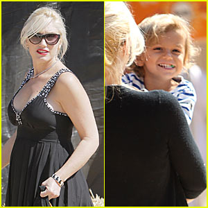 Gwen Stefani Goes Pumpkin Patch Picking