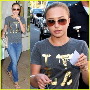 Hayden Panettiere is Thibiant Thrilled