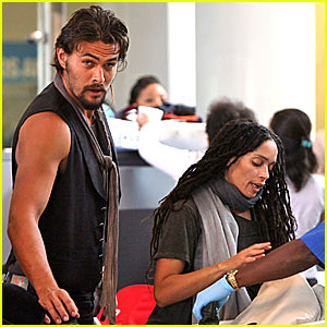 Lisa Bonet & Jason Momoa Jet Off