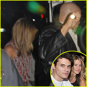 Jennifer Aniston Visits John Mayer's House