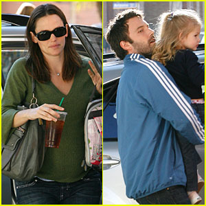 Jennifer Garner and Ben Affleck's Double Duty