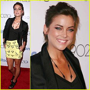 Jessica Stroup Kicks It With Kitson