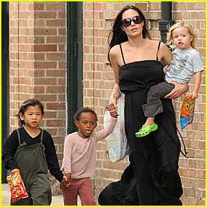 The Jolie-Pitts are a Cheetos Family