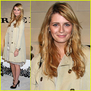 Mischa Barton's Burberry Business