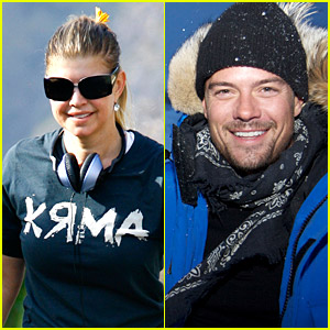 Josh Duhamel Plays With Polar Bears