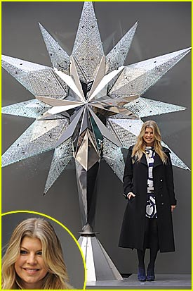 Fergie Unveils Swarovski Star
