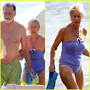 Helen Mirren: Happy In Hawaii