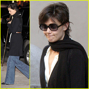 Katie Holmes is a Miu Miu Model