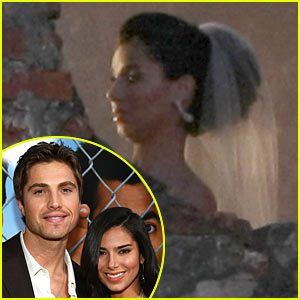 Roselyn Sanchez Wedding Pictures -- FIRST LOOK