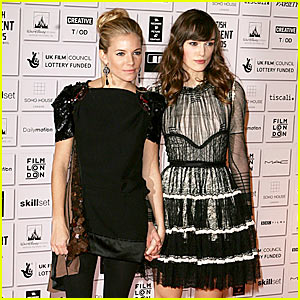 Sienna Miller Hits British Independent Film Awards