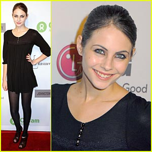 Willa Holland is Oxfam Flirty