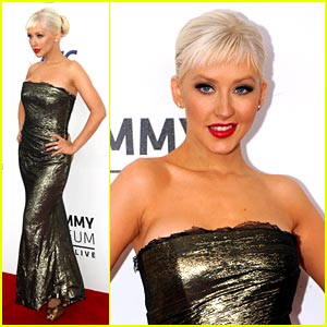 Christina Aguilera is Grammy Gorg