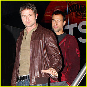 Gerard Butler & Dante Spencer: Boys' Night Out