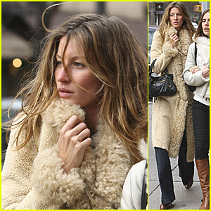 Gisele Bundchen: Windswept in the West Village