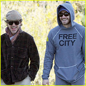 Jake Gyllenhaal & Robert Downey Jr. -- Ojai Joy!
