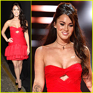 Megan Fox - Spike TV's 2008 Video Game Awards