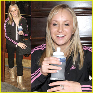 Nastia Liukin is a Gold Gossip Girl
