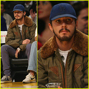 Shia LaBeouf Loves The Lakers