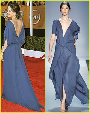 Angelina Jolie's Backwards Dress Explained