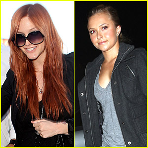 Ashlee Simpson and Hayden Panettiere: Go Obama!