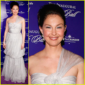 Ashley Judd: Belle of the Purple Ball