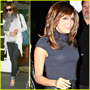 Eva Longoria Gets Ken Paves Pampered