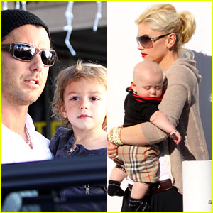 Gwen & Gavin: Fred Segal Family Time!