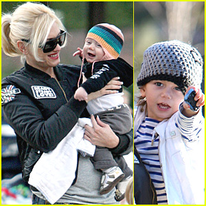 Gwen Stefani, Kingston and Zuma are Coldwater Cool