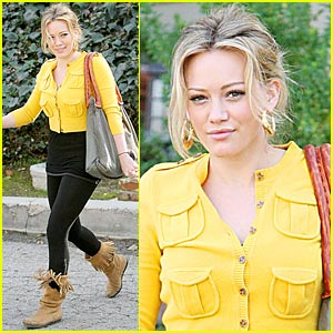 Hilary Duff is a Muxo Maven