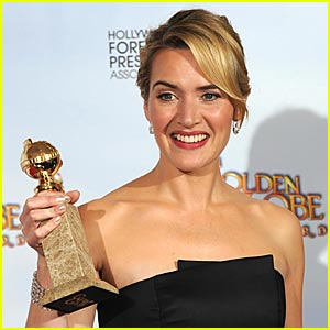 Kate Winslet Wins 2009 Golden Globe - Best Actress