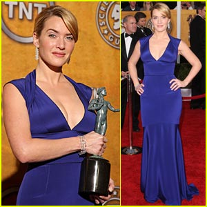 Kate Winslet Wins 2009 SAG Award