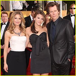 Kyra Sedgwick – SAG Awards 2009   Celebrity Babies, Kevin ...