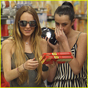 Lindsay Lohan's Sister-Supermarket Sweep