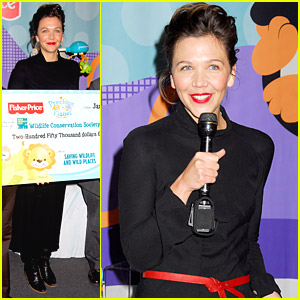 Maggie Gyllenhaal Cares For Our Precious Planet