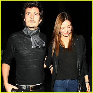 Orlando Bloom & Miranda Kerr: Katsuya Couple