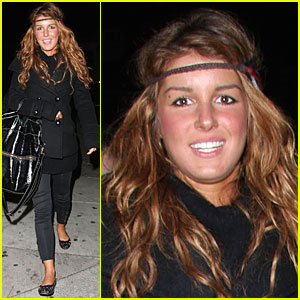 Shenae Grimes Goes Headband Haywire