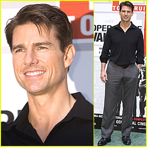 Tom Cruise Rolls Into Rome
