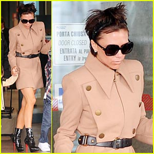 Victoria Beckham is Fiumicino Fierce
