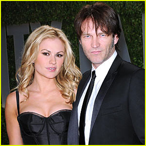Anna Paquin & Stephen Moyer Couple Up | Anna Paquin ... Anna Paquin Divorce